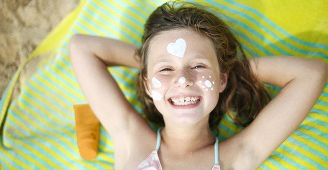 Protector solar: 4 juegos para enseñar a los niños a protegerse del sol
