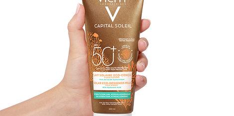 Vichy presenta el protector solar Capital Soleil Eco-Solar FPS 50+