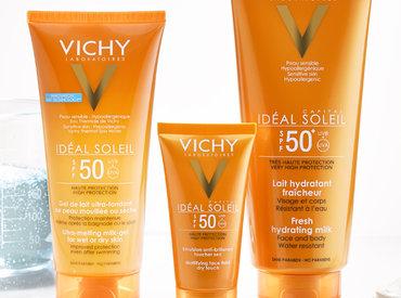 Todo sobre Idéal Soleil, la línea de Vichy para cuidar tu piel del sol