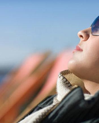 Exposición al sol de invierno: hazlo de forma segura