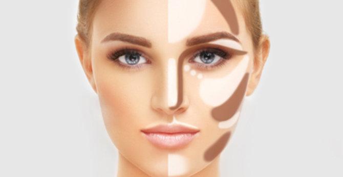 El contouring: Cómo esculpir el rostro en 5 minutos